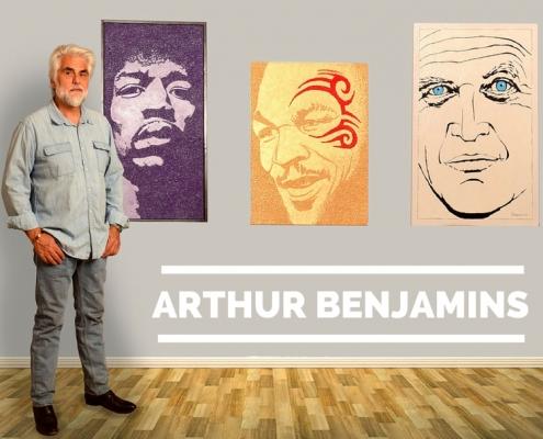 Arthur Benjamins, Artist