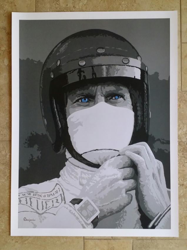 THE RACER - STEVE MCQUEEN